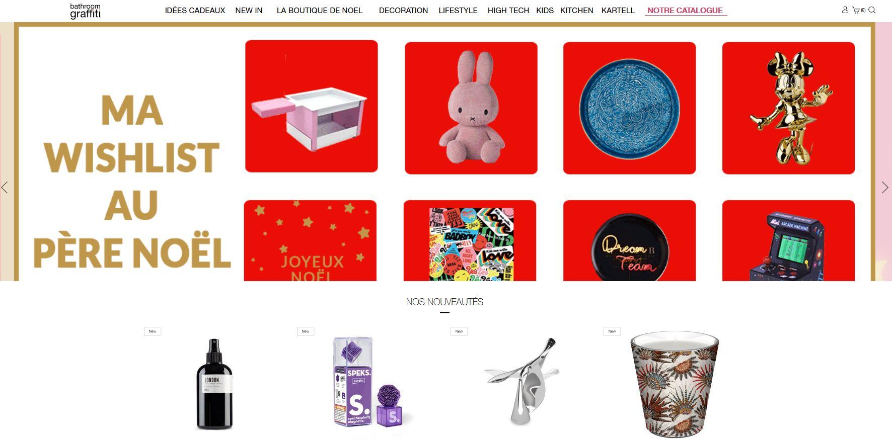 Réalisation e-commerce par Futur Digital boutiques à Paris