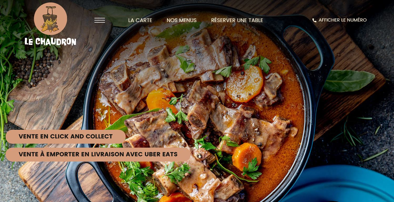 Restaurant click and collect Futur Digital